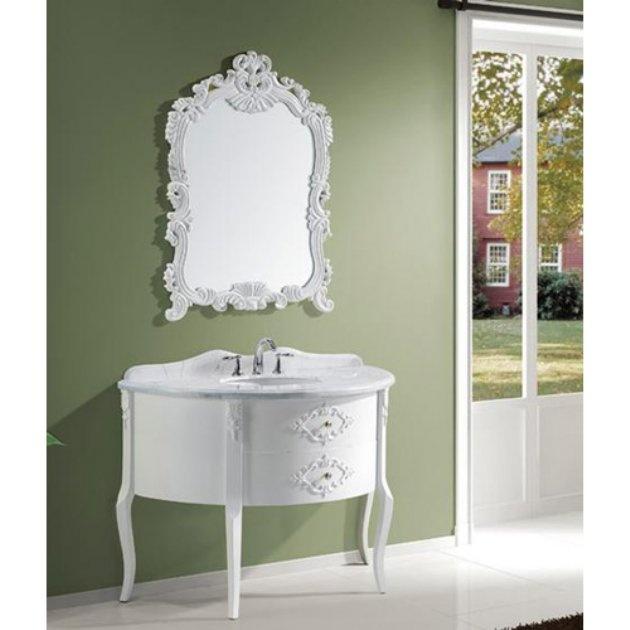 Contemporary Art Sites Virtu USA Abigail in Single Sink Bathroom Vanity White