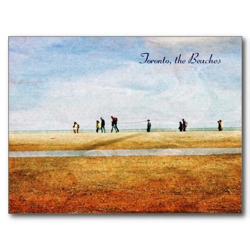 walking along lake Ontario - Toronto, the Beaches Post Cards