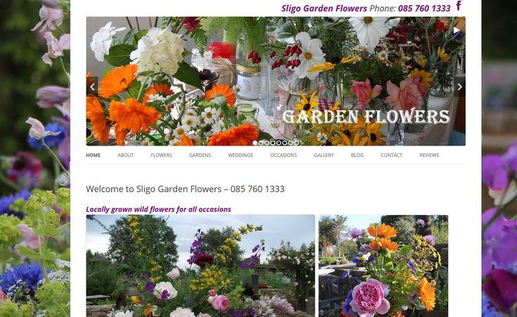 www.sligogardenflowers.ie, WordPress site designed and built by www.format.ie web designers Sligo