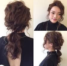 Image result for wavy side ponytail african american