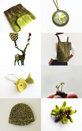 Winter finds - Beauty of Chartreuse  by Inese on Etsy--Pinned with TreasuryPin.com