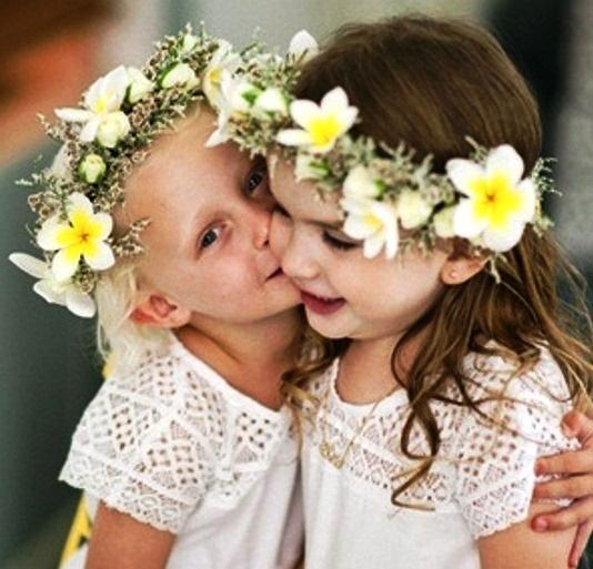 Girl's daffodil wedding flower crowns corona halo ❀Flower ❀ Girls❀