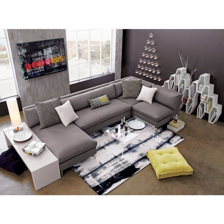 Modern Coffee Table For Sectional: 17 Best Images About Unique Couches On Pinterest