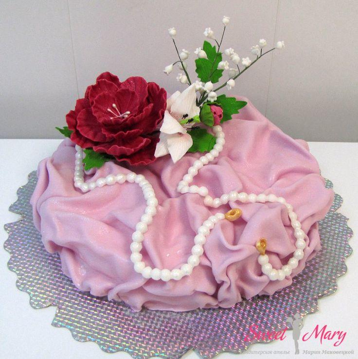 Заказ торта на день рождения, приморский кондитер