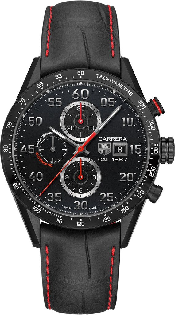 TAG Heuer Watch Carrera Racing Chronograph Calibre 1887