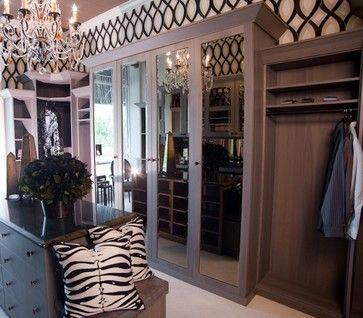 Walk In Closet   Traditional   Closet   New York   Anthonys Closets, Shower  Doors