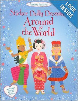 Sticker Dolly Dressing Around the World: Emily Bone: 9780794529680: Amazon.com: Books