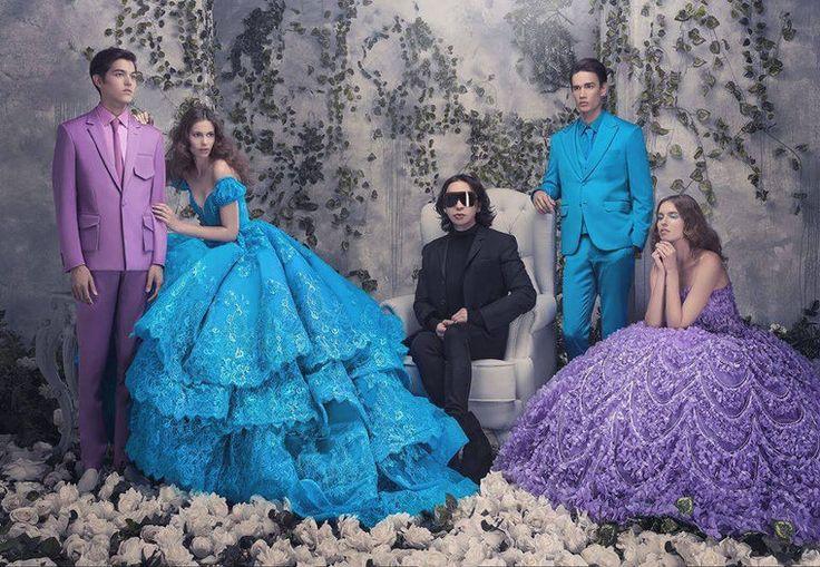 Платья для принцесс от Michael Cinco: роскошные гламурные и очень-очень женственные