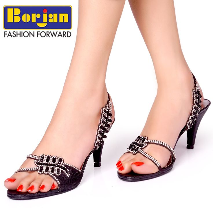 Feel glamorous while stepping out into Borjan heeled sandals! Article: A13169501 Price: PKR.2250/-