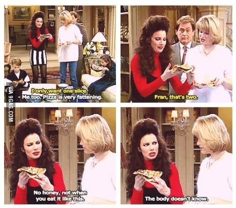 """Because your diet totally works. 