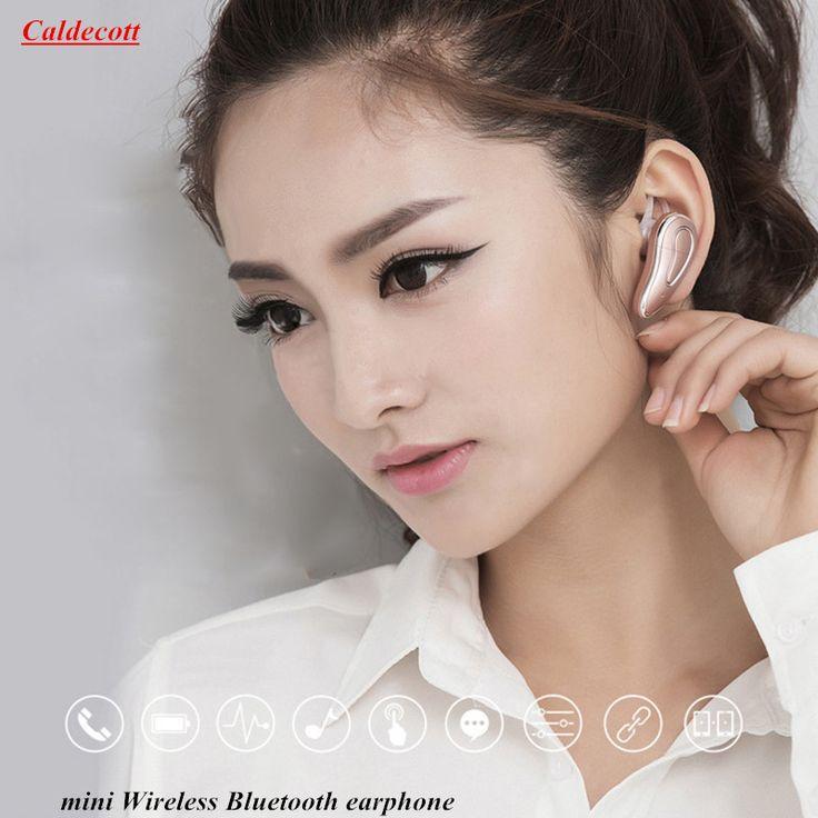 for Phone PC Fashion Caldecott D9 Mini Stereo 4.1 Wireless Bluetooth Sport headphone with Mcphone Ear HOOK earphone