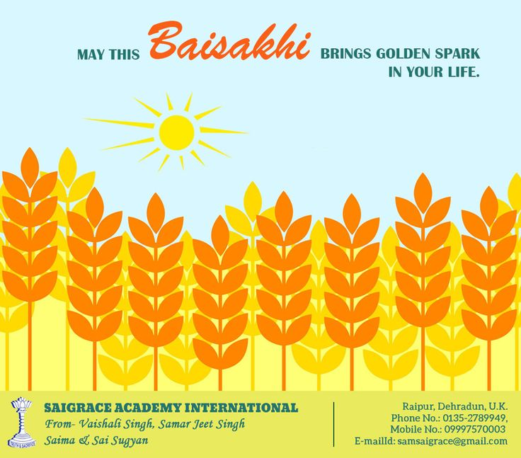 Happy Baisakhi......#saigrace