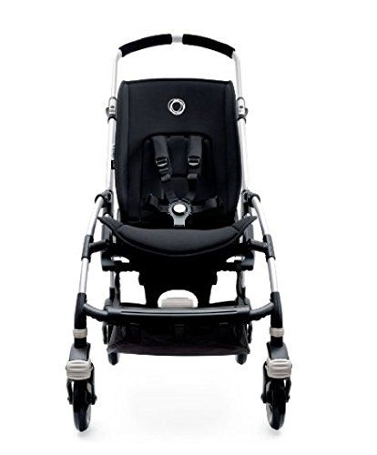 Bugaboo Bee3 Stroller Base Aluminum with Bee 3 Rain Cover and Universal Console