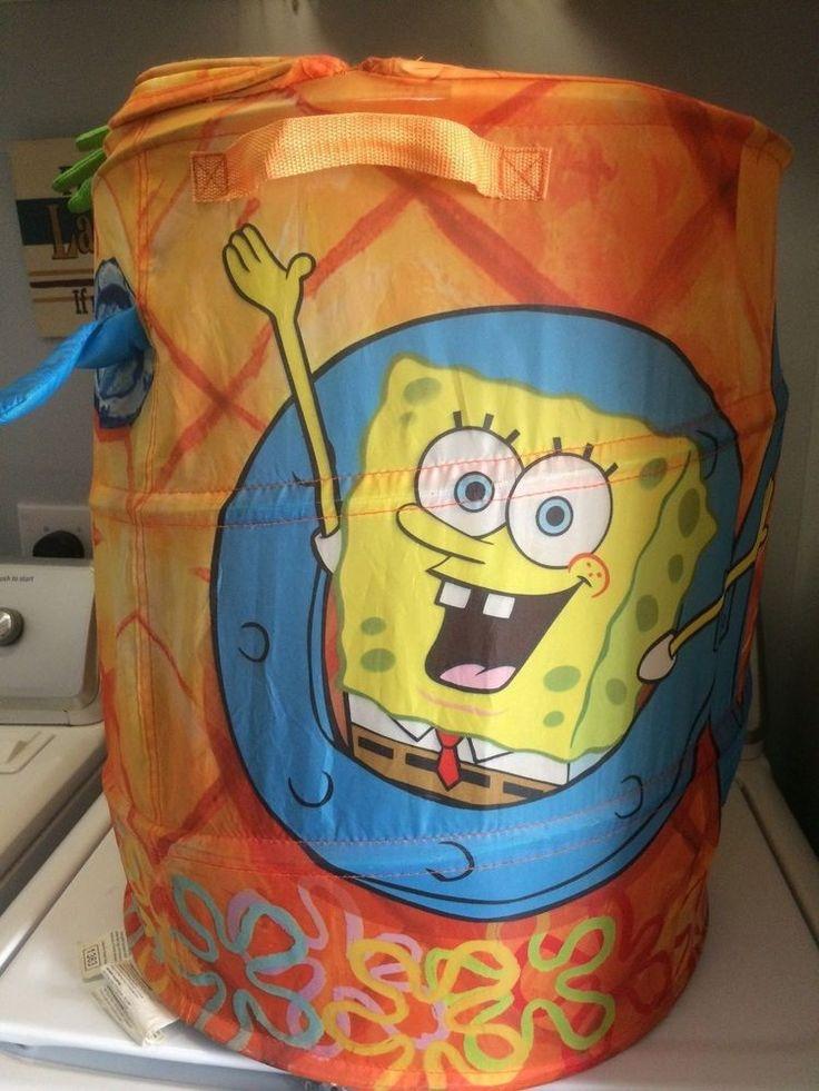 Pineapple house Spongebob Squarepants hamper collapsible toys pop up organizer #Nickelodeon