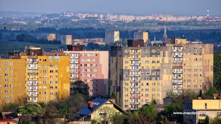 Widok z kopca - Piekary Śląskie