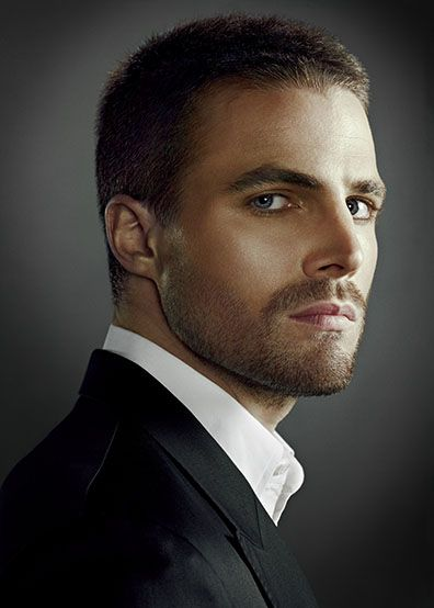 Stephen Amell...I'd be just fine if he played Christian!