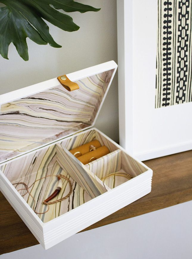 Upcycle an old cigar box into a chic jewelry box jewelry making upcycle an old cigar box into a chic jewelry box solutioingenieria Choice Image