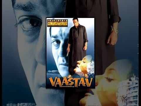 """Vaastav The Reality is a 1999 Hindi crime drama written and directed by Mahesh Manjrekar and starring Sanjay Dutt and Namrata Shirodkar. It also features Sanjay Narvekar, Mohnish Behl, Paresh Rawal, Reema Lagoo and Shivaji Satam in supporting roles. """"The Reality"""" as described by the... https://newhindimovies.in/2017/07/19/vaastav/"""