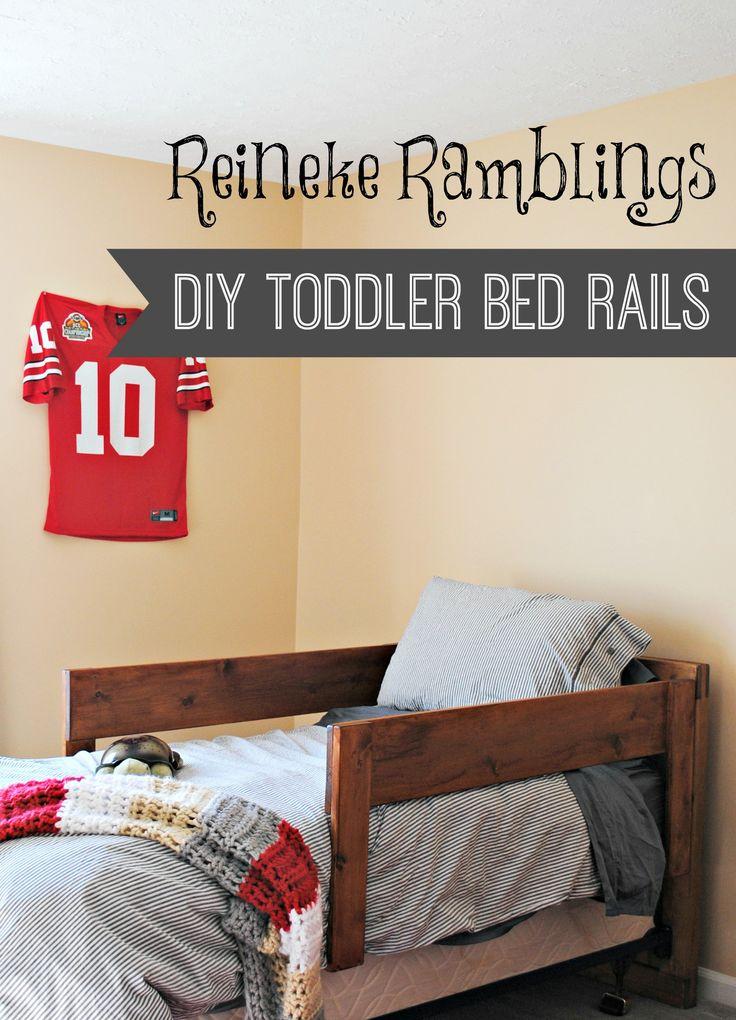 25 Unique Bed Rails Ideas On Pinterest Toddler Bed