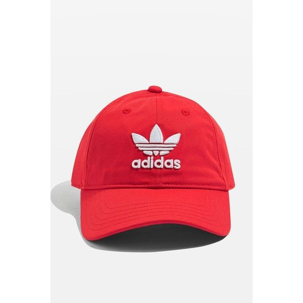 4a8c672c053 Trefoil Cap by Adidas Originals ( 23) ❤ liked on Polyvore featuring  accessories