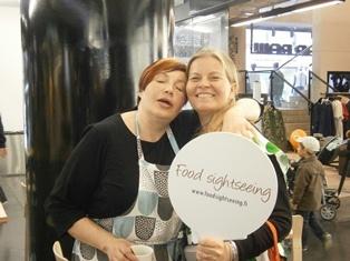 Helsinki Food Tour @ Eat & Joy Farmer's market. Food is bringing us together!