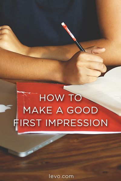 Before your next interview (or date), read up on how to make a good first impression!
