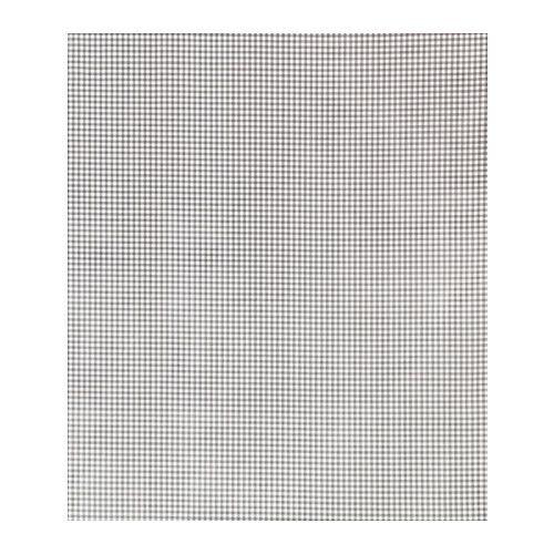 BERTA Tkanina z warstwą plastiku IKEA Pokryta akrylem tkanina jest łatwa do utrzymania w czystości - wystarczy przetrzeć lub wyprać w pralce.