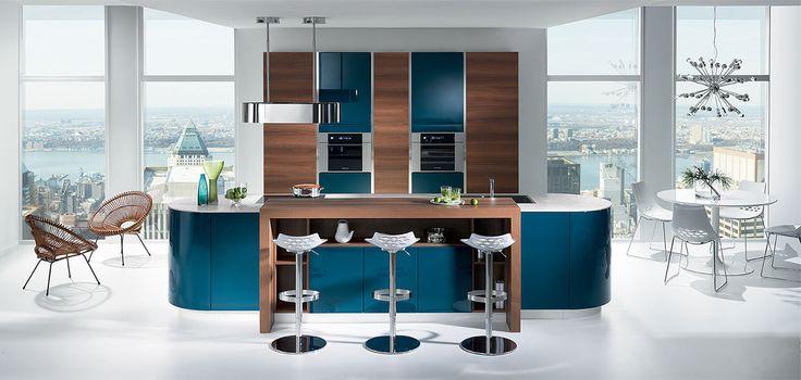 1000 id es sur le th me cuisine bleu canard sur pinterest for Cuisine equipee bleu