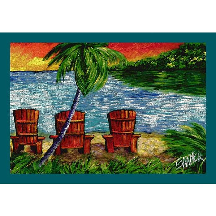 Don Sawyer Three's Company Tropical Rug - P-#536008-C-#6002 By Milliken