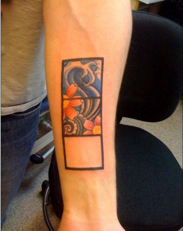 Not at all a fan of John Mayer, but I like the concept behind his tattoo.