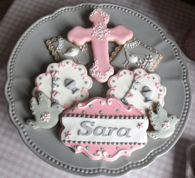 Cupcake's house: Mesa de Dulces  Rosa y gris nunca falla!