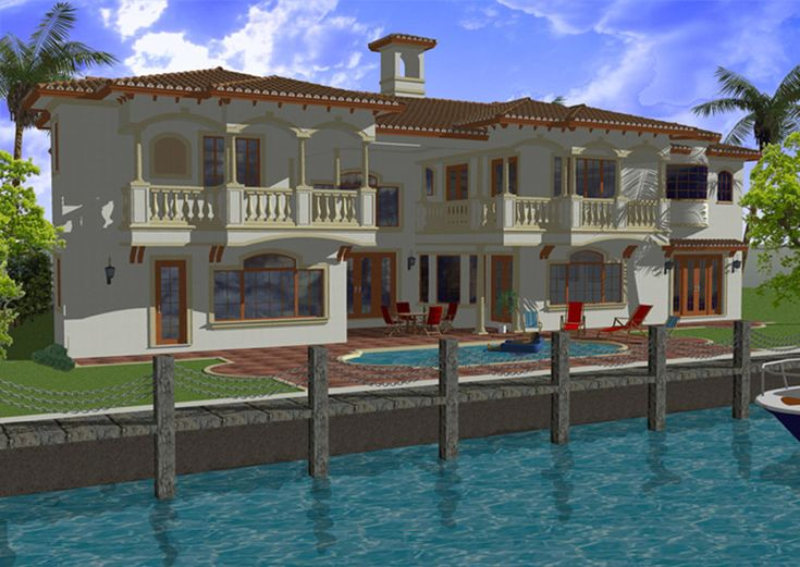 HOUSE PLAN MODEL On Pinterest Models Spanish Style And House Plans