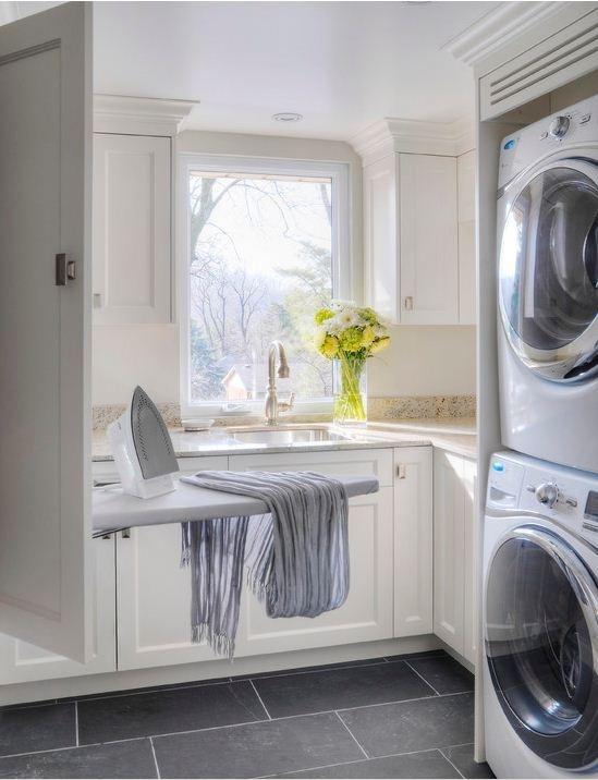 Colin et Justin partagent des idées de décoration et de rangement pour la salle de lavage | RONAMAG
