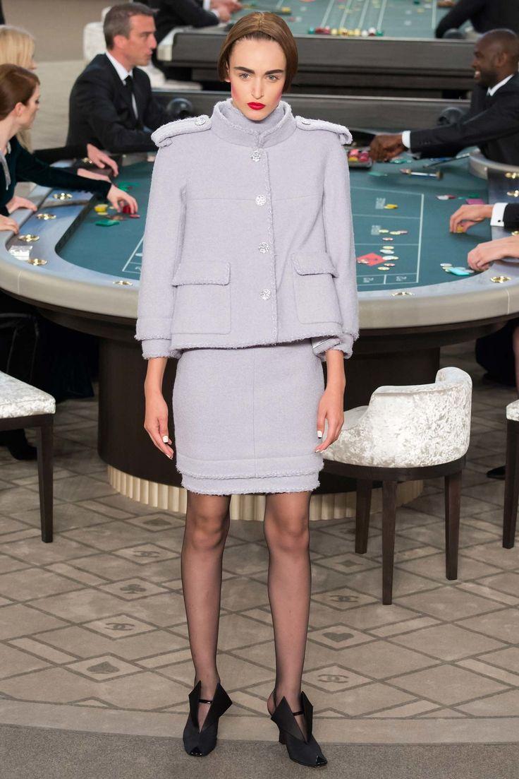 Chanel Fall 2015 Couture Fashion Show - Stasha Yatchuk (Women)