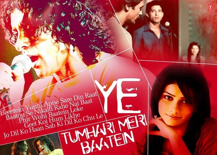 Ye Tumhari Meri Baten #ROCKON #BollywoodSongQuotes