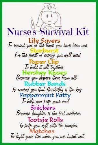 Why I am a nurse and a free printable to make a cute and inexpensive gift for your favorite nurse.