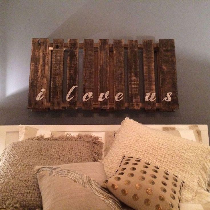 DIY Love Pallet String Art