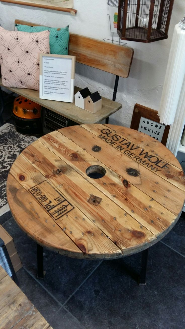 Meer dan 1000 ideeën over houten tafel ontwerp op pinterest   pot ...