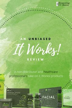 **not a pitch for It Works**  Is #itworks all they claim it is? Here is a breakdown of everything you need to know before trying the products! #crazywrapthing #greens #fatfighters #thermofit #unbiased #review #safetymatters