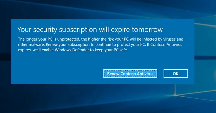 Microsoft admits that Windows 10 does temporarily disable third-party antivirus software