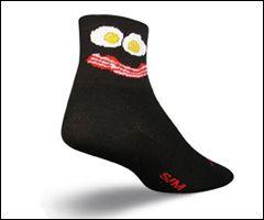 Sock Guy Breakfast Socks  at https://www.blueskycycling.com/product/9640/26/Sock_Guy_Breakfast_Socks.htm