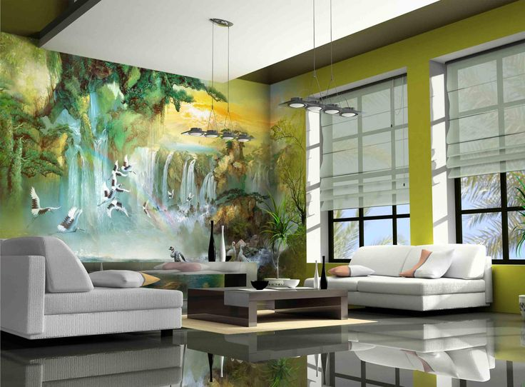 Modern Living Room Murals 160 best design mural/mural design images on pinterest | murals