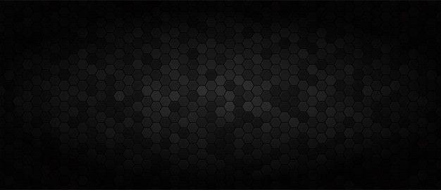 Black wide technology background Vector | Premium Download