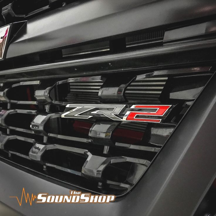 Anthony had us install some led driving lights hidden in his lower grille. Really digging the ZR2 package!#thesoundshop #top50retailers #top50installers #indiantrail #led#caraudio #colorado#zr2#Chevrolet #drivinglights#hidden#oemplusplus  Interested in upgrading your car audio system? Give us a call or stop by our store to see why the local Charlotte, NC community chooses us for their High-End Car Stereo needs.