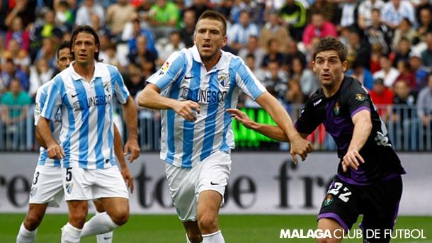 J8 LigaBBVA Málaga CF, 2 - Real Valladolid, 1