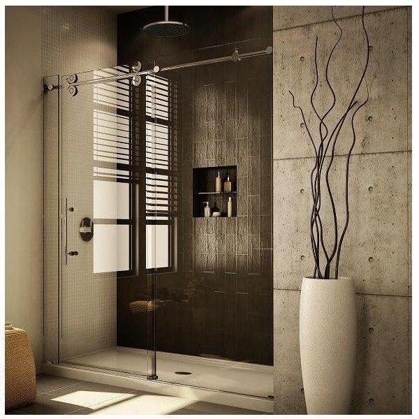 Sliding Glass Shower Door #housing #bathroom