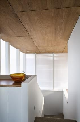 timber ceiling | hallway ply on the ceiling