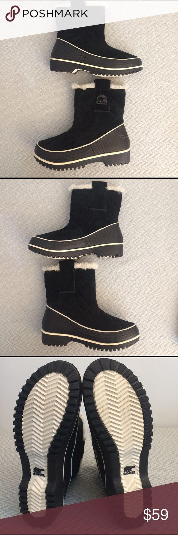 Sorel Tivoli II Size 8 Gorgeous boots! Sorel Tivoli II pull on boots. They're in like new condition might've been worn once or twice, there's no wear on the tread.  The boots are in perfect condition. Sorel Shoes Winter & Rain Boots