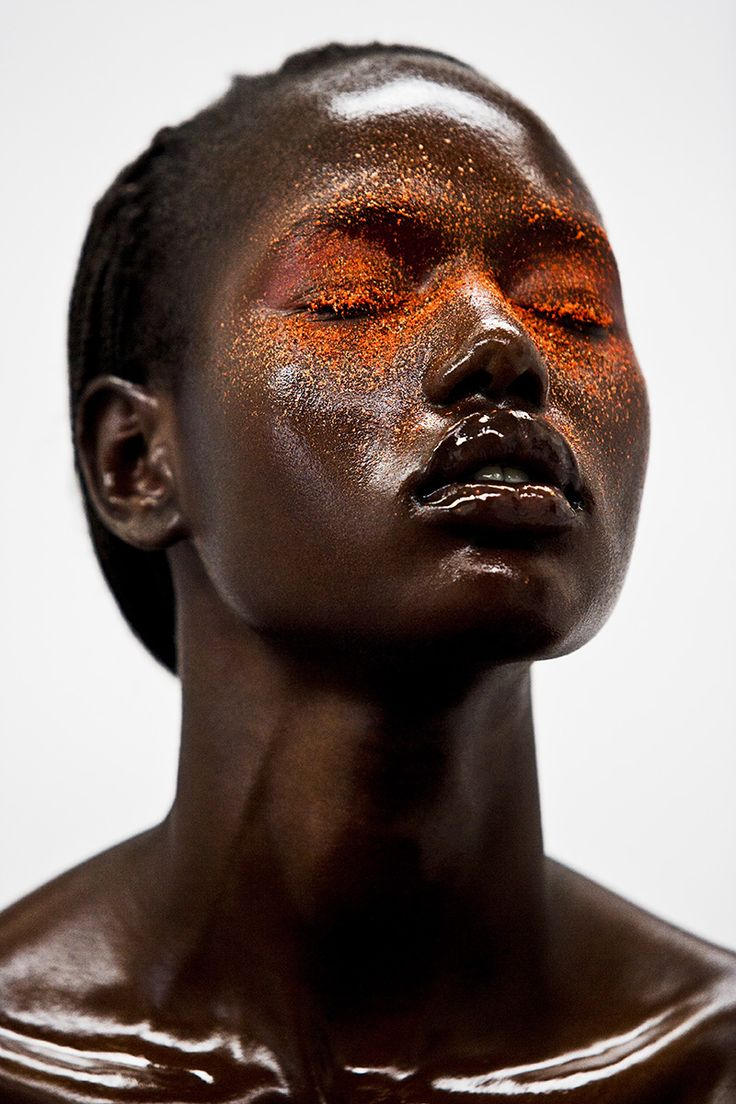 """awesome Sudanese model Ajak Deng is officially done with the fashion industry over """"fakes and lies""""  [fashion]"""