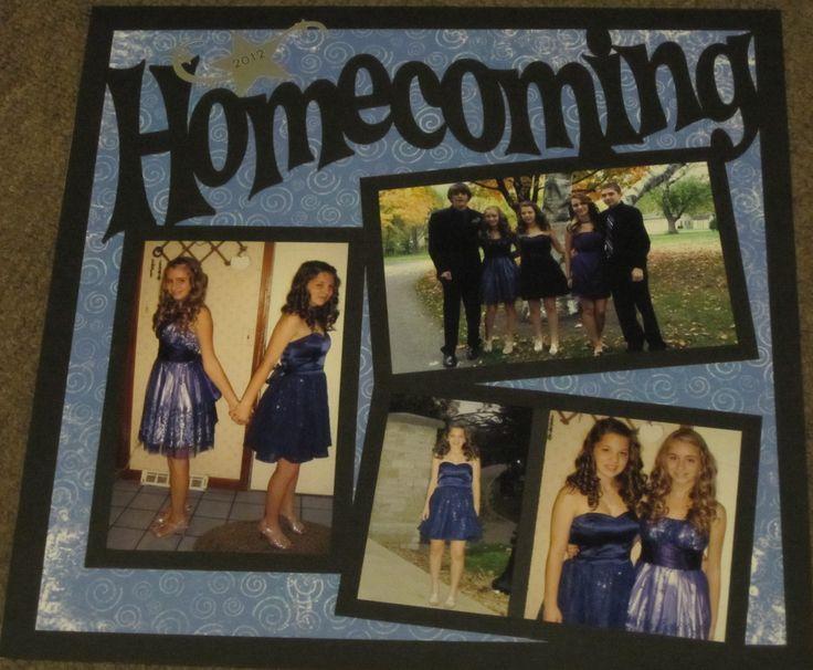 Homecoming 2012 - Scrapbook.com